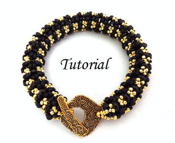 Tutorial Ladies Bangle Bracelet - Instant download PDF