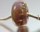 Lampwork BIG hole bead, fits European charm bracelets by Vanessa Hearn SRA UK - Miranda