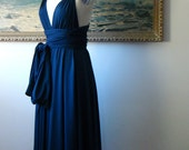 Last one- Wind and Sea Navy Convertible Wrap Dress
