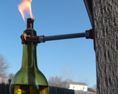 Recycled Wine Bottle Tiki Torches - Perfect for Mother's Day