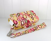 The Errand Runner - Cell Phone Wallet - Wristlet - for iPhone/Android - SALE - Bangle Dot/Butter