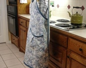 Duck Cloth n Denim Full Cross Back Apron