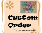 Custom Listing for presumiendo