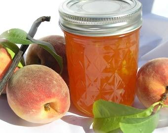 Vanilla Bean Peach Jam