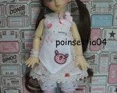 Super Dollfie Yo SD Strawberry One Piece Dress Set C