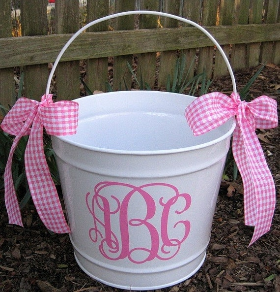 Items Similar To Personalized Easter Bucket 10 Qt Assorted