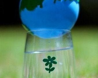 Glass Tatz - Flowers (wine glass clings)