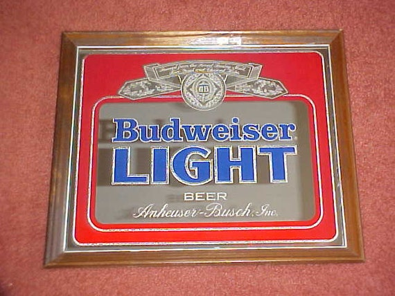 Reserve Listing For Jrpete1 1982 Budweiser Light Beer Bar