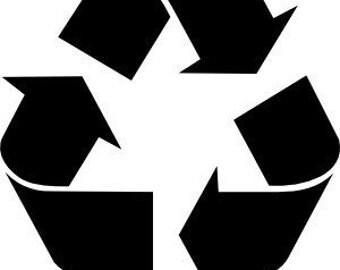 STENCIL Recycle Symbol
