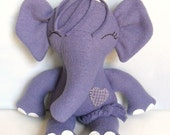Kids - Baby & Toddler - Stuffed Toy - Elephant Ragdoll - Amethyst - Grape