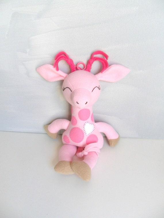 Pink Giraffe Ragdoll - Mini