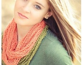 October sale! Chain Scarf Necklaces -SET OF 2- 1 short, 1 medium length- pick your colors