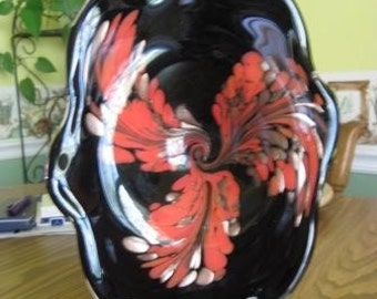 Vintage Murano Style Glass Art (1940-1950)  Lovely for Mom but Masculine for Dad
