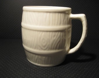Vintage Sylvac England Barrel Coffee Mug