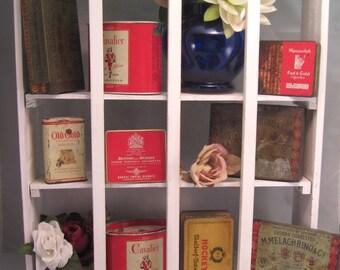 Antique Tobacciana Lot RARE Waldorf-Astoria HOCKEY Cigarette Tin, Vintage Collectible