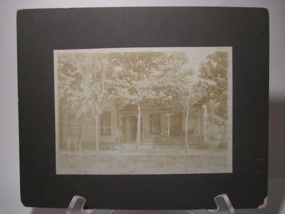 Antique Farmhouse Photograph ...nice architectural image - Relaxing country style in a porch hammock