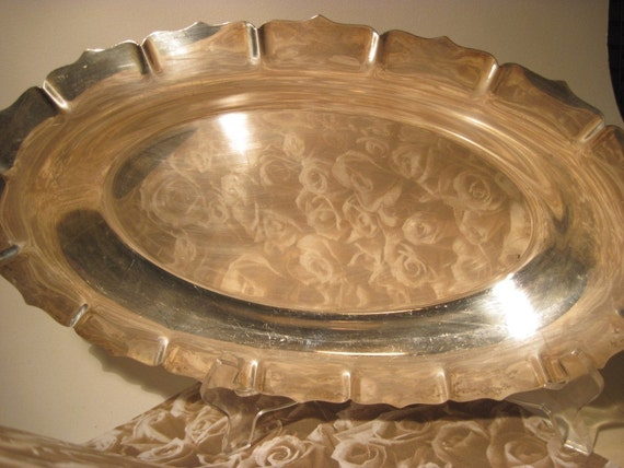 Silverplated Bread Tray - International Silver Co. Early American