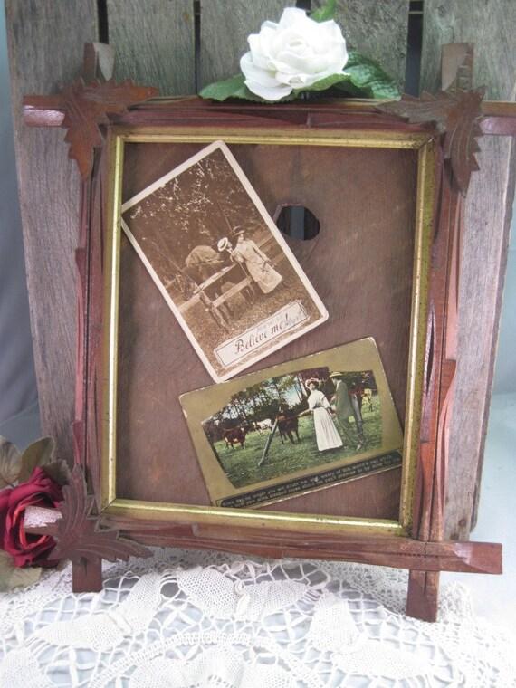 Victorian Carved Wooden Frame