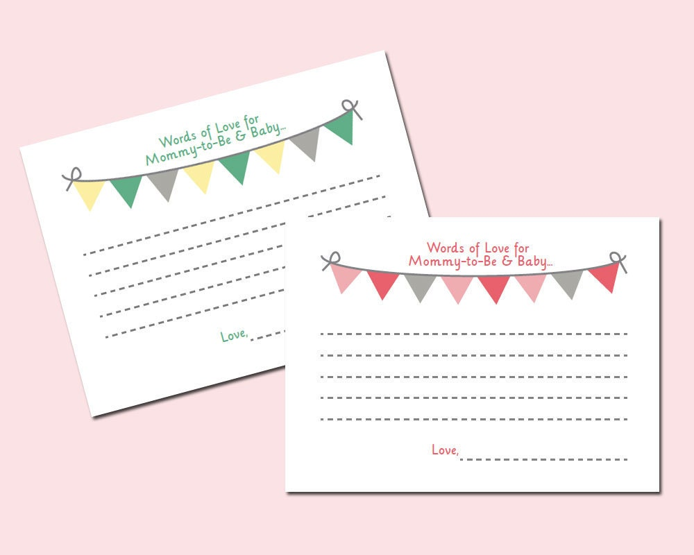 It's just a photo of Comprehensive Free Printable Advice Cards for Baby Shower