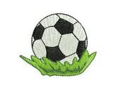 Soccer Ball Machine Embroidery Design - 4x4