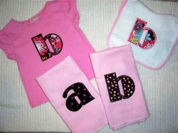 Broadway Applique Alphabet Machine Embroidery Designs