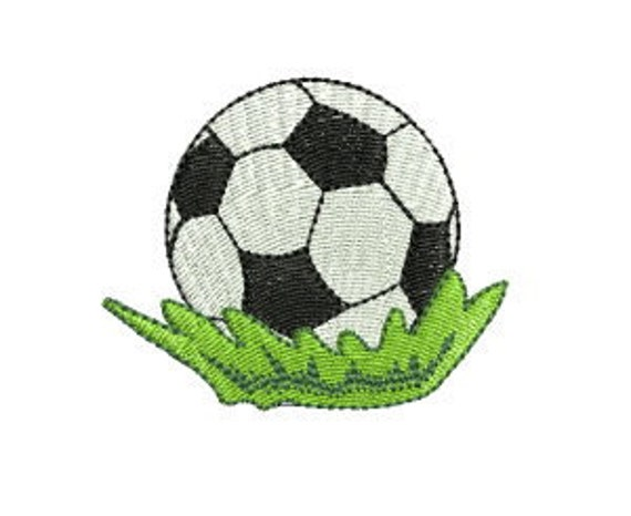 Soccer Ball Machine Embroidery Design - 4x4