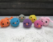 Set of 4 Chicks and Bunnies Great for Easter! Ships Free- Made to order