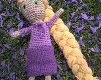 Rapunzel doll