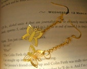 Free Falling Butterfly Earrings