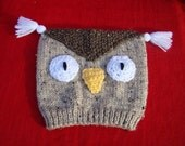 ADULT OWL HAT    /Select any color/