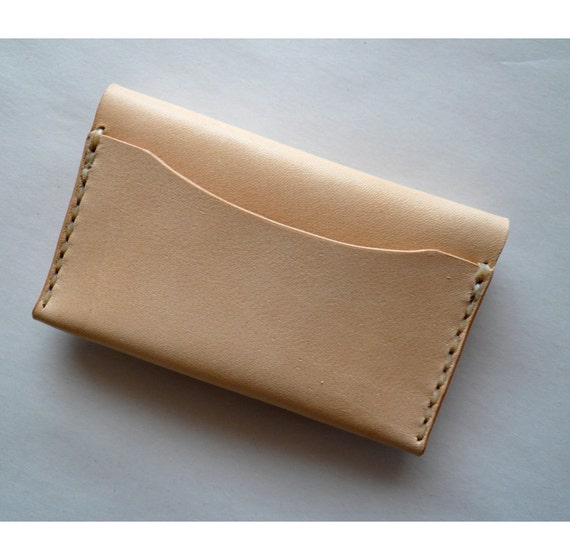 Add a back pocket to a card case