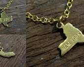 Choose Your State - Charm Necklace