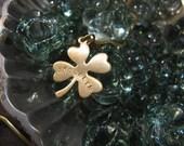 Brooklyn - Shamrock Four Leaf Clover Necklace