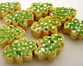 20 Tiny Christmas Tree Cookies