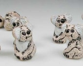 20 Tiny Koala Bear Beads - CB24