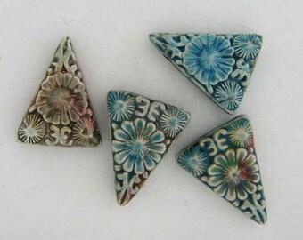 4 Cinnabar Style Slice Bead