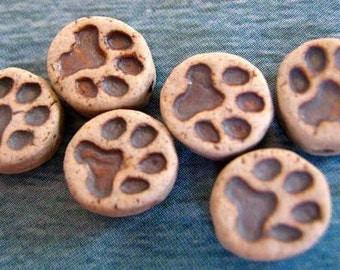 20 Dog Paw Prints - CB636