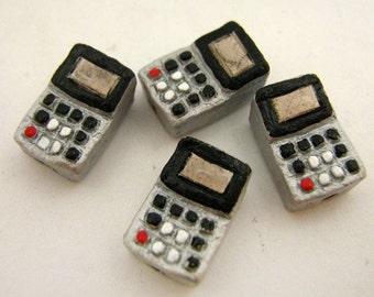 4 Tiny Calculator Beads