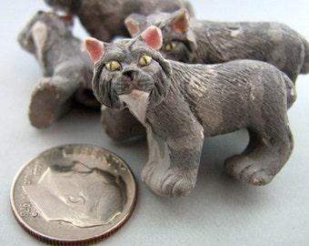 4 Large Lynx Beads