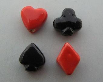 8 Tiny Poker Beads
