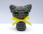 Tiny Crocheted Cat (All Colors Available)