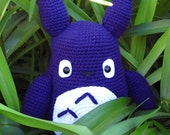 Crocheted Totoro Large - My Neighbor Totoro