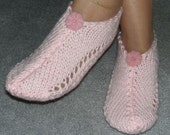 Pair of Baby Pink Pocket Slippers