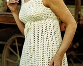 Crochet pattern - Dress -  Empire dress - instant pdf download pattern