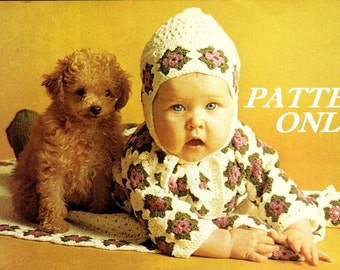 Baby - Two patterns - crochet