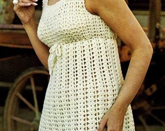 Crochet pattern - Dress -  Empire dress - instant pdf download pattern