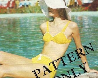 Crochet pattern - bikini