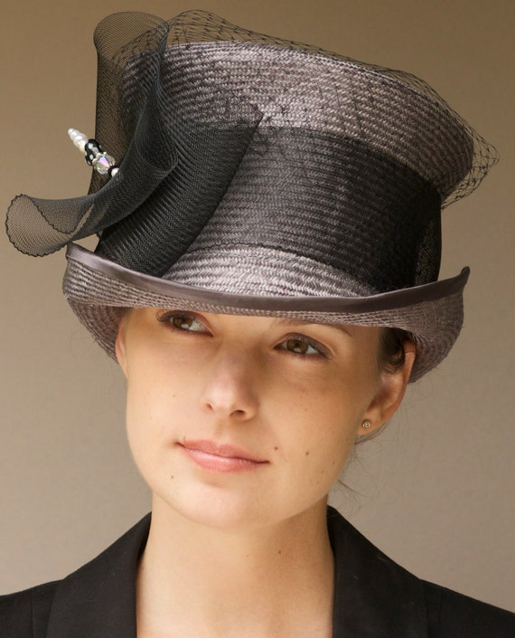 Kentucky Derby Hat, Wedding Hat, Top Hat. Mad Hatter, Ascot Hat, Formal Occasion Hat