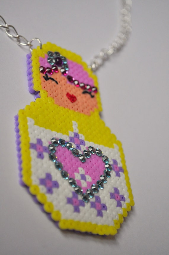 Lovely Russian doll Necklace
