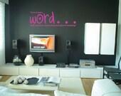 Love Custom Vinyl Wall Decal